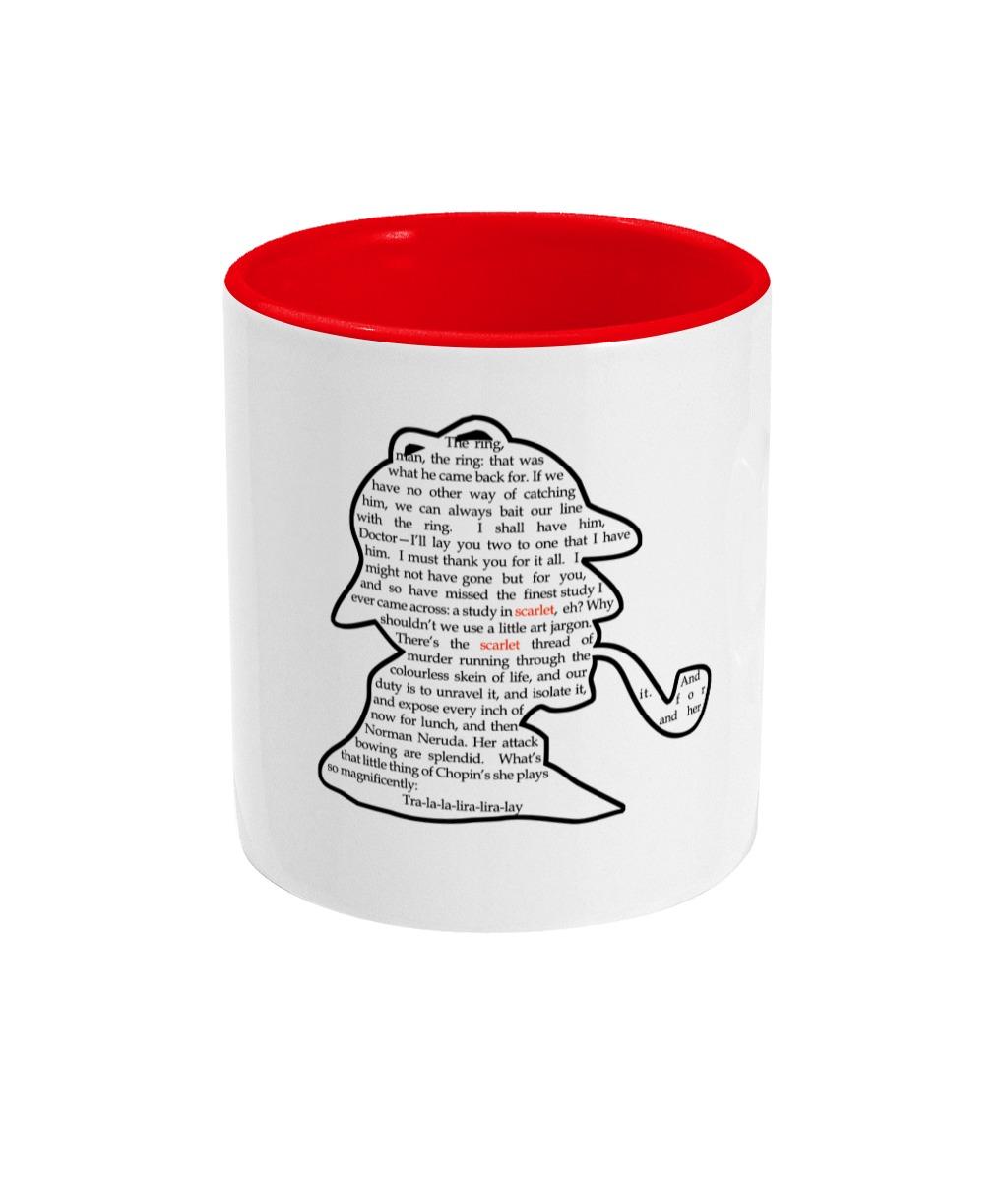 Study In Scarlet Mug